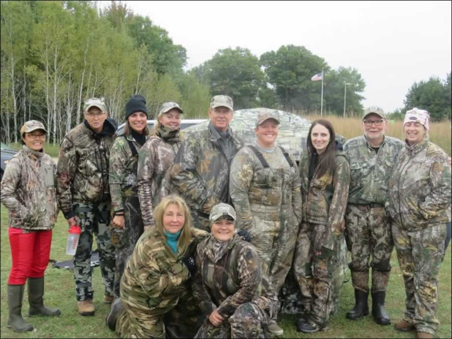 A group of hunters and mentors