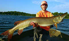 Current catch-and-release record muskellunge.