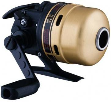 Diagram of a closed-face spincast reel
