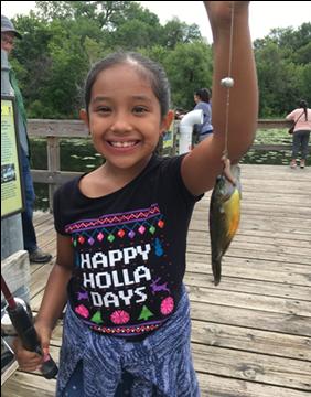 A youth fishing education program