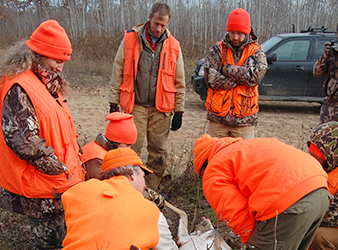 Minnesota DNR learn to hunt program