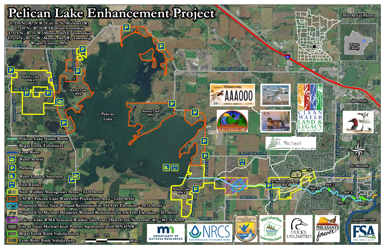 Pelican Lake Enhancement Project