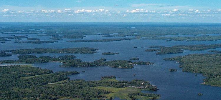 Black Bay on Rainy Lake