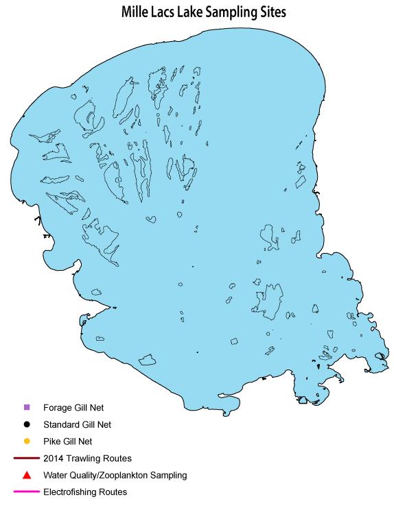 Mille Lacs Lake Sampling
