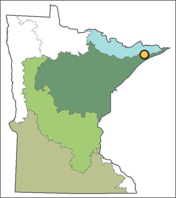 Location of Tait Lake