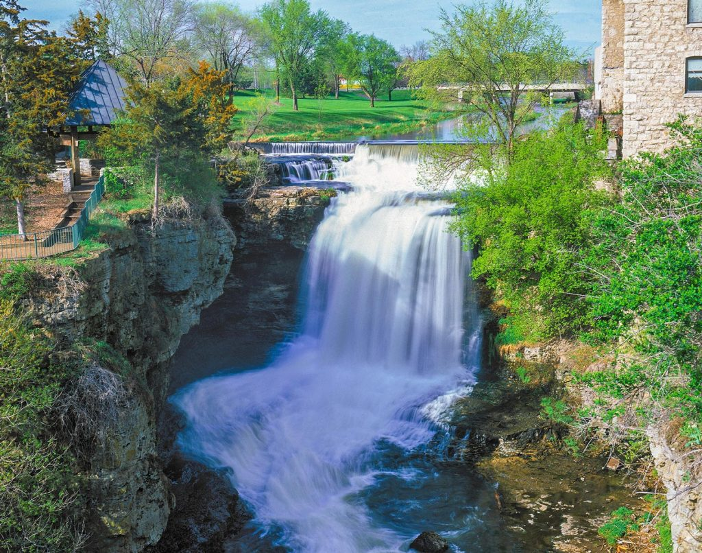 Vermillion Falls in Hastings
