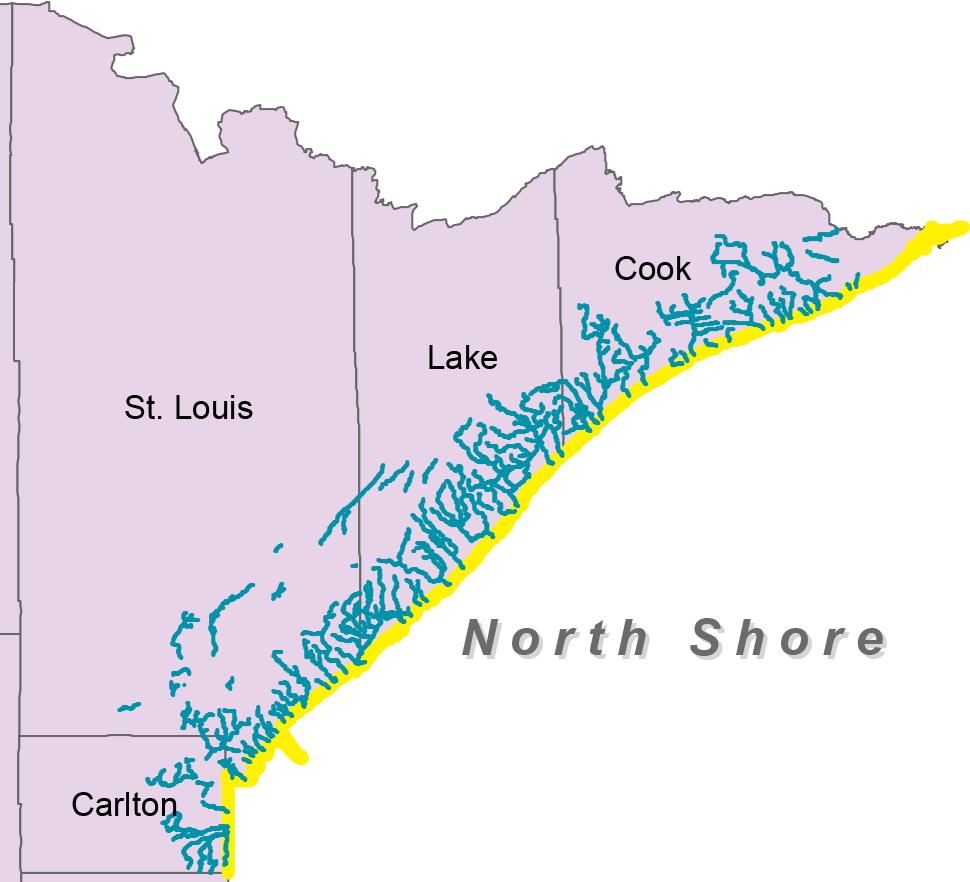 Minnesota's North Shore trout region