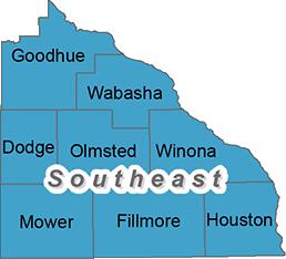 Minnesota's southeast trout region