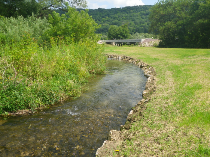 An improved trout stream.
