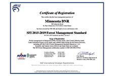SFI certificate