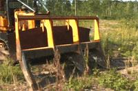 photo of disc trencher
