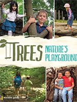 trees natures playground poster