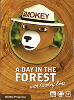CD Cover of A day in the Forest with Smokey Bear