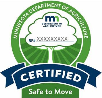 MN Dept of Agriculture Firewood Certification Logo