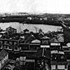 Baudette-Spooner Fire 1910, Oct 7. 300,000 acres burned, 42 lives lost. Towns of Baudette-Spooner before fire.