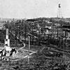 Town of Cloquet after fire.