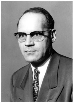 photo: Division of Forestry Director Earl J. Adams, 1965-1967 and 1973-1979