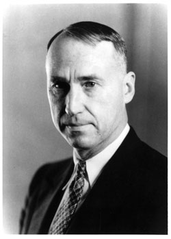 photo: Division of Forestry Director Grover M. Conzet, 1924-1937
