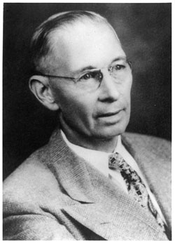 photo: Division of Forestry Director William T. Cox 1911-1924