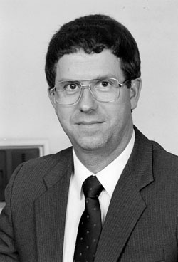 photo:Division of Forestry Director Raymond B. Hitchcock, 1979-1987