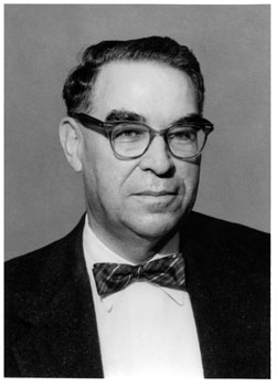 photo: Division of Forestry Director Clarence Prout, 148-1954 and 1963-1965