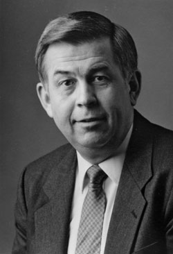 photo: Division of Forestry Director Gerald A. Rose, 1987-2001