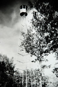 image:Smoky Hills Fire tower in 1927