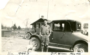 photo: Don Wilson first car