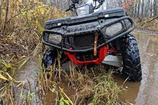 ATV in water