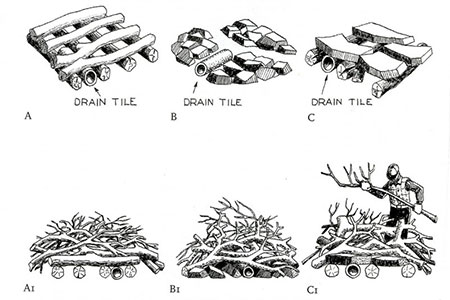 illustrations showing the different ways to compost.