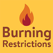 burning restrictions sign