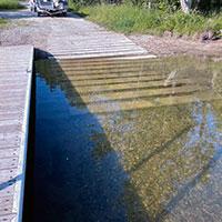 water access ramp