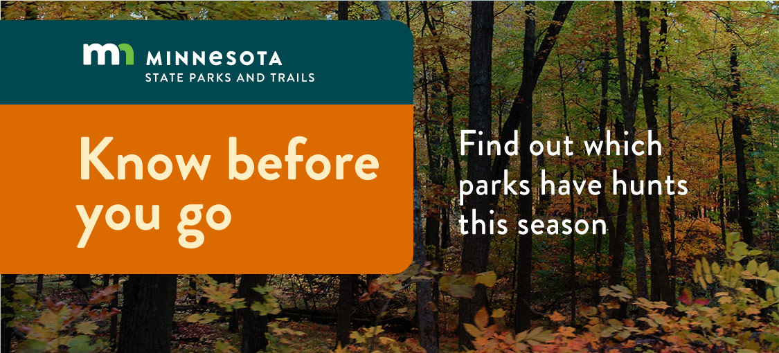 Know before you go, and see which parks have special hunts this season.