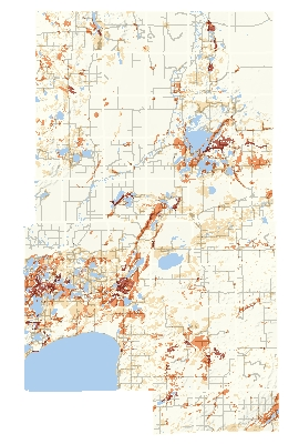 Aitkin Inset Map