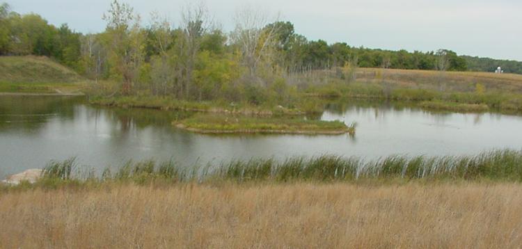 Reclaimed Gravel Pit