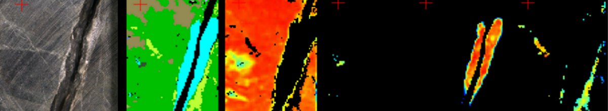 a sample of hyperspectral imaging results