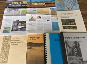 A selection of Lands and Minerals publications
