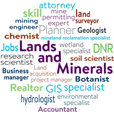 Lands and Minerals Employee Titles