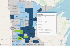 View and interact with Aggregate Resource Mapping Program GIS Data