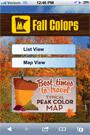 fall colors thumbnail of details screen