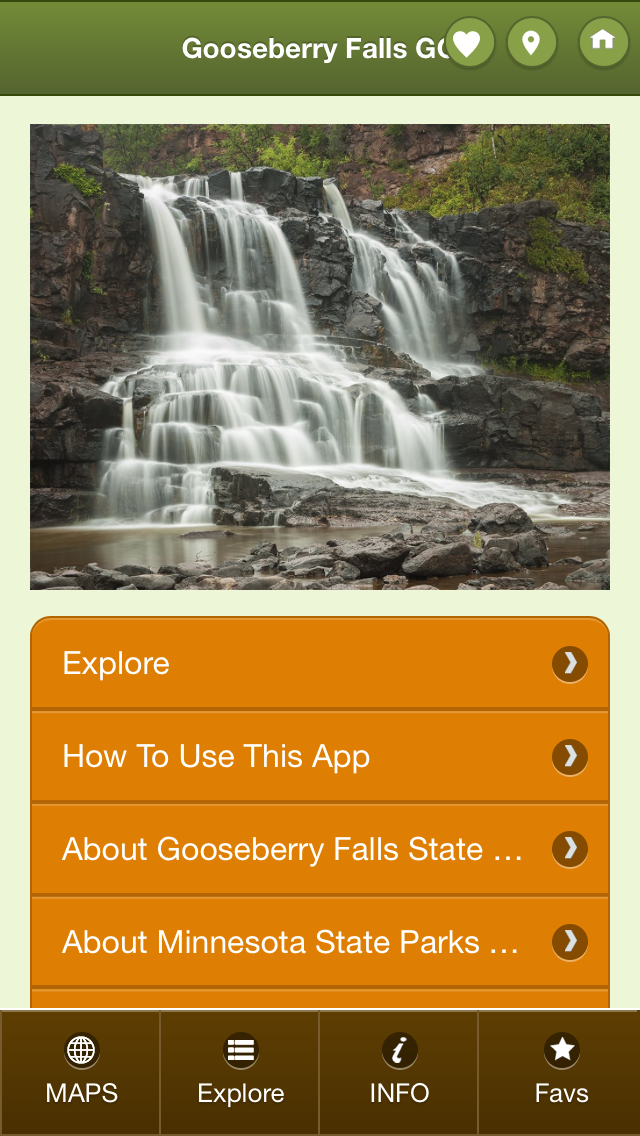 Gooseberry go main screen image