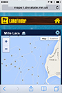 lake finder thumbnail of map details screen