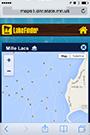 lake finder thumbnail of map details screen