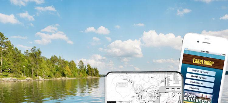 photo of a lake in Minnesota
