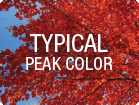 View typical peak colors map
