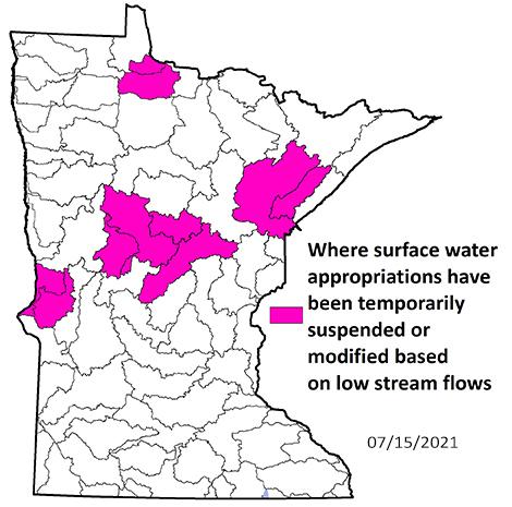drought intensity 07-15-2021
