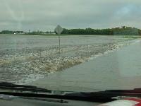 Hwy 9 flooded