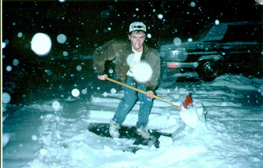 The first one inch or more snowfall in 1991 was October 31st with 8.2 inches.