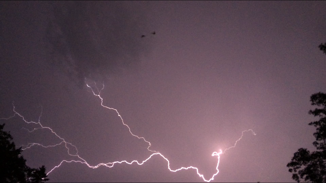 lightning with bats