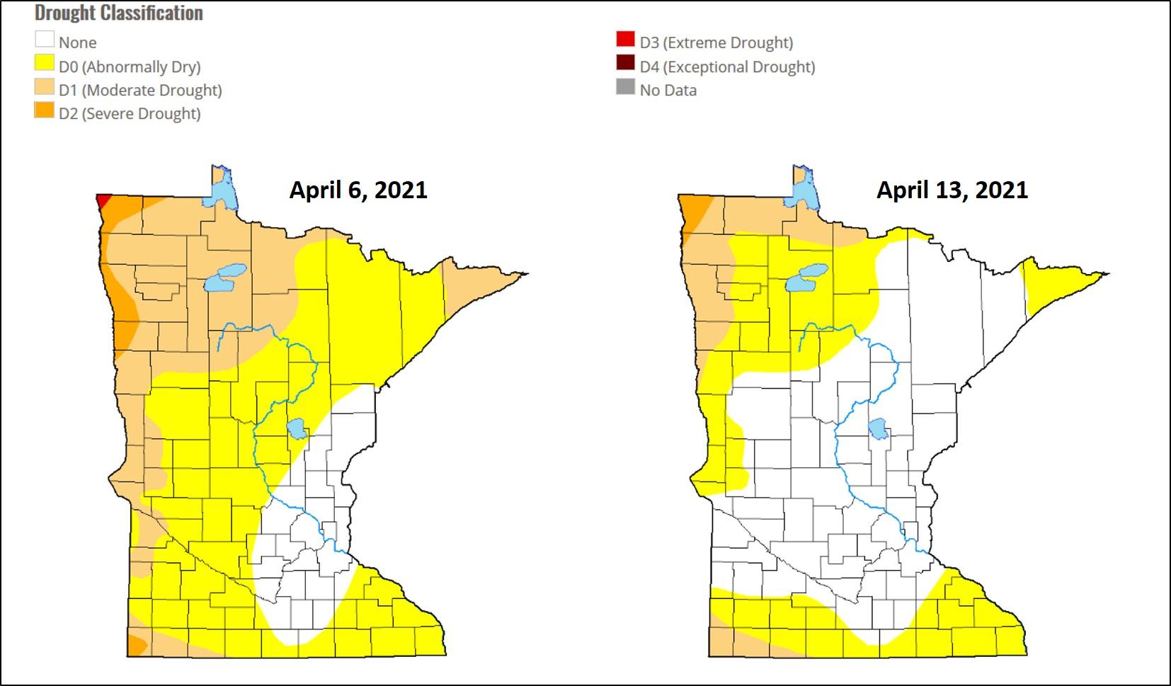 drought maps